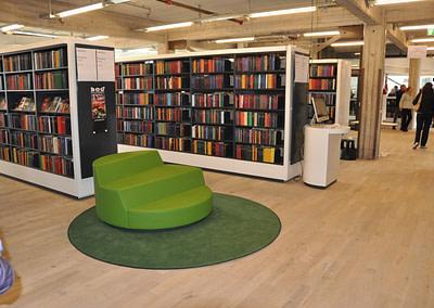 Biblioteksinventar til Kulturværftet