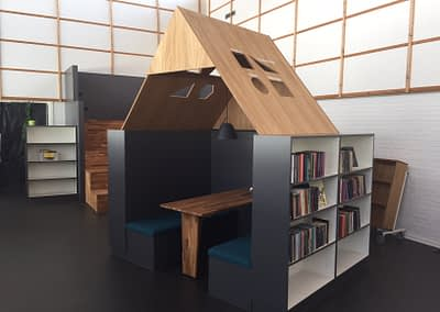 Kongerslev Skole bibliotek