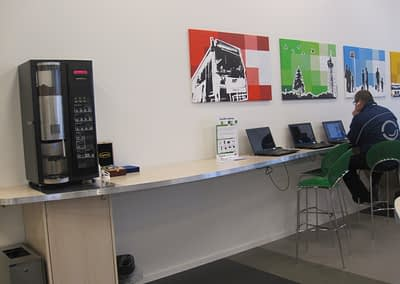 Special inventar til NT Infocenter
